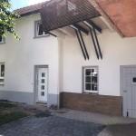 Gelungene Fassadenreparatur